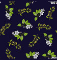 spring blossom seamless pattern vector image vector image