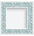Square paper lace frame