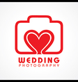 Wedding Photography Concept vector image vector image