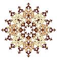 Antique ottoman turkish pattern design one vector image vector image