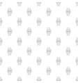 award ribbon pattern seamless vector image vector image