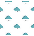 cloud network connection pattern seamless vector image