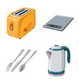 kitchen and cook icon vector image vector image