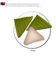 Saksak Papua New Guinean Dish vector image vector image