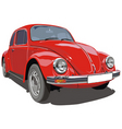 Vw beetle car vector | Price: 5 Credits (USD $5)