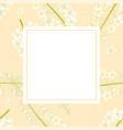 white cassia fistula - golden shower flower on vector image vector image