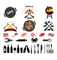 barbecue icon vector image