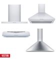 Set of cooker hoods vector image vector image