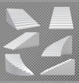 stairs set vector image