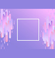 violet glitched background with copy space - vector image vector image