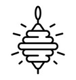whirligig icon outline style vector image