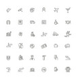 airport icon icon art vector image vector image