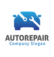 Auto Repair Design vector image