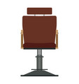 barber chair shop barbershop salon hair vector image vector image