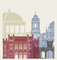 Cadiz skyline poster
