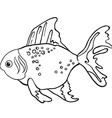 fish1 vector image