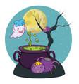 Halloween cute cartoons