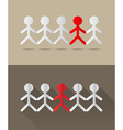 Human together concept vector image vector image
