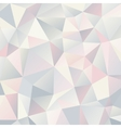 Triangle geometric background Template for your vector image vector image