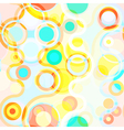 Bright seamless abstract background vector image