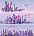 Cityscape architecture vector image