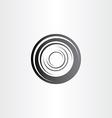 car wheel symbol design vector image