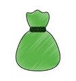 bag of money symbol vector image vector image