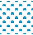 baseball cap back pattern seamless vector image vector image