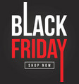 black friday sale background collection vector image