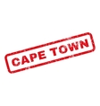 Cape Town Rubber Stamp vector image vector image