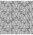 Graphic starfish seamless pattern vector image vector image