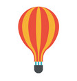 icon symbol art design of air travel balloon vector image