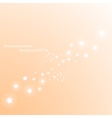 Magic stars way Abstract background vector image vector image