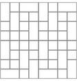 monochrome blank manga template vector image vector image