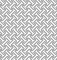 Slim gray striped diagonal T shapes vector image vector image