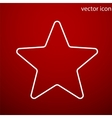 Star icon and jpg Flat style object Art vector image vector image