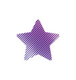 star logo minimal abstract symbol geometrical vector image vector image