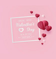 Valentines day sale with balloon heart shape
