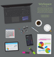 website banner of a business design concept top vector image