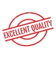 Excellent Quality rubber stamp vector image