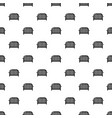 fence speech icon simple black style vector image