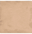 old cardboard paper texture vector image vector image