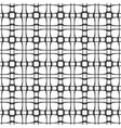 seamless pattern abstract monochrome background vector image