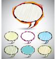 Sketch style speech bubbles 2