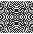 Trendy seamless zebra background vector image vector image