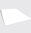 A4 Paper vector image vector image
