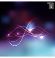Abstract lighting background vector image vector image