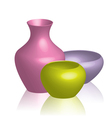 Colorful vases vector | Price: 1 Credit (USD $1)