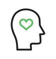 emotional intelligence vector image vector image