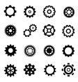 gearwheel mechanism vector image vector image